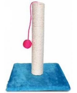 Когтеточка на подставке с шариком, 30*30*40 см (820S)