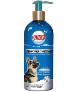 Глубокая очистка Шампунь-кондиционер для собак и кошек