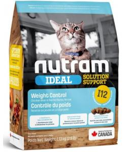 Сухой корм для кошек - контроль веса I12 Nutram Ideal Solution Support Weight Control Cat Food