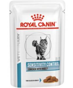 Кусочки в желе c курицей для кошек с пищевой аллергией, Sensitivity control Chicken S/O