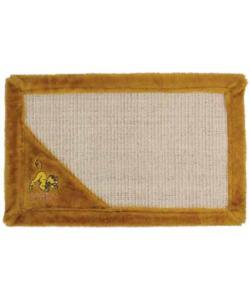 Когтеточка - коврик Simba  55х35 см, песочный (WD2005)