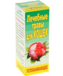 """Настойка лечебных трав """"Успокаивающее средство"""" для кошек"""
