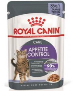 Кусочки в желе для взрослых кошек, рекомендуется для контроля выпрашивания корма, Appetite Control Care Gravy
