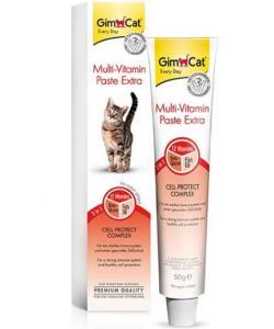 GimCat Multi-Vitamin Paste Extra Мультивитаминная паста ЭКСТРА для взрослых кошек