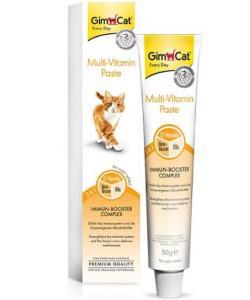 GimCat Multi-Vitamin Paste Мультивитаминная паста для взрослых кошек