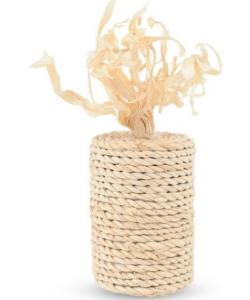 """Игрушка  из кукурузных листьев """"Бабина"""" 4,5*12 см (EC-07)"""