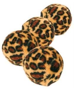"""Набор мячиков """"Леопард"""", Ф 3,5 см, 4 шт. (4109)"""