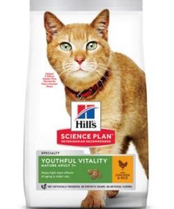 Для пожилых кошек с курицей (Youthful Vitality)