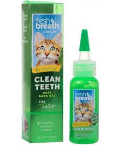 Гель для чистки зубов для кошек Clean Teeth Gel