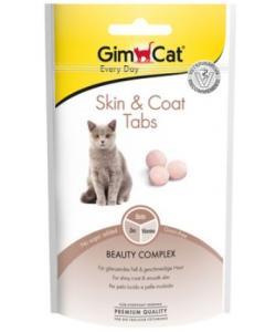 """GimCat Витамины """"Скин и коат"""" с цинком для кожи и шерсти кошек"""