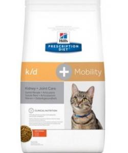 K/D + Mobility для кошек лечение почек + поддержка суставов