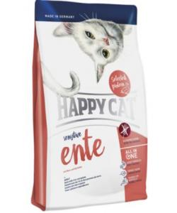 Cухой корм для кошек с чувствительным пищеварением с уткой, Sensitive Grainfree Ente
