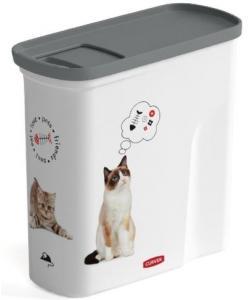 "Контейнер для корма ""Любимые котята"" на 2 л, 21*9*19см"
