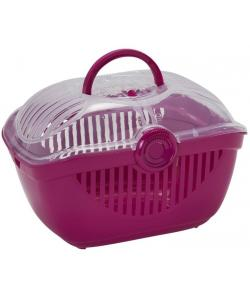 Переноска-корзинка Toprunner large, 48х36х32 см, большая ярко-розовая