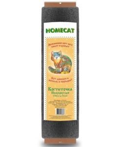 Homecat Когтеточка полукруглая, ковролин, 11*5,5*58 см