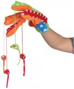 Игрушка для кошек перчатка с мышками