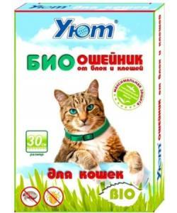 Bio Ошейник  Уют от блох и клещей для кошек 30см