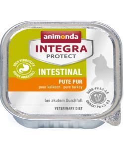 Консервы Integra для взрослых кошек при нарушениях пищеварения с индейкой (Intestinal)