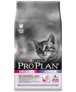 Для котят с чувствительным пищеварением, с индейкой и рисом (Junior delicate)