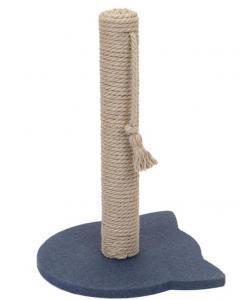 "Когтеточка-столбик ""Navy"" джут 32*31*47 см"