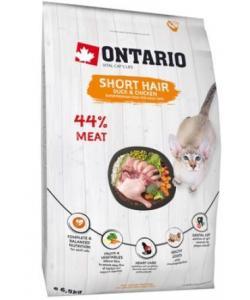 Для короткошерстных кошек с курицей и уткой (Ontario Cat Shorthair)