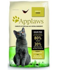 """Беззерновой для Пожилых кошек """"Курица/Овощи: 80/20%"""" (Dry Cat  Senior)"""