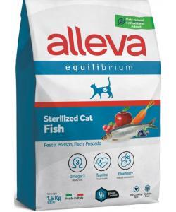 Equilibrium Cat сухой корм для кастрированных котов и стерилизованных кошек с рыбой, Sterilized Fish