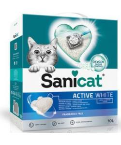 Белоснежный ультракомкующийся наполнитель без аромата (Active White unscented)