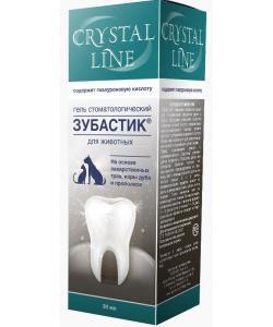 Зубастик гель для чистки зубов Crystal line
