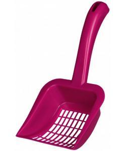 Совок с крупными отверстиями, для кошачьего туалета, пластик (40472)