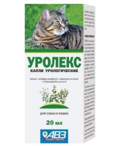 Уролекс для собак и кошекс -  капли урологические, 20 мл