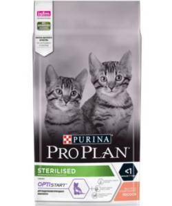 Для кастрированных и стерилизованных Котят с лососем Sterilised Kitten