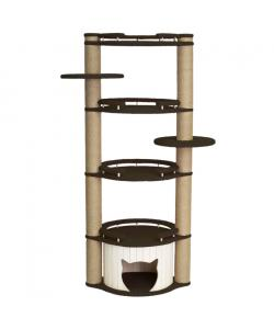 """Комплекс для кошек  """"Честер"""" темно-коричневый 95*45*162 см."""