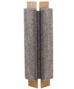 Когтеточка угловая, ковролин, 22*53 см (Щг-14000)