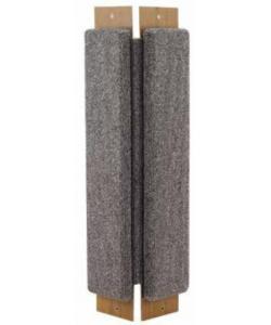 Когтеточка угловая, ковролин, 24*57 см (Щг-13800)