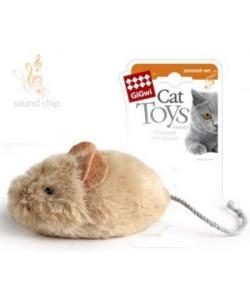 Игрушка для кошек Мышка со звуковым чипом (75217)