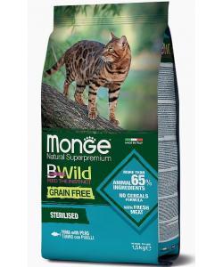 Cat BWild GRAIN FREE беззерновой корм из тунца для стерилизованных кошек