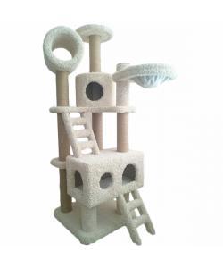 """Игровой комплекс для кошек ковролиновый """"ДИК-1"""" 60*60*180 см."""