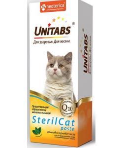 Unitabs SterilCat Витаминная паста для кастрированных котов и стерилизованных кошек