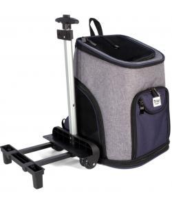 """Сумка-рюкзак для животных """"Трансформер"""" на колесах, 33*30*50 см"""