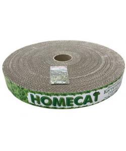 Когтеточка для кошек круглая мятная 32х4 см, гофрокартон