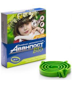 Аванпост Bio ошейник репеллентный для кошек 35см
