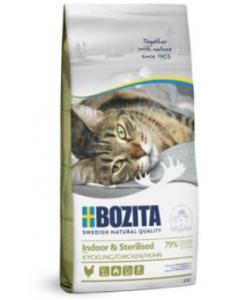 Корм для домашних и стерилизованных кошек, с курицей и рисом, Indoor&Sterilised 32/14