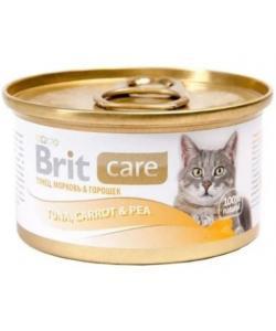 Консервы для  кошек Тунец, морковь и горошек (Tuna,Carrot&Pea)