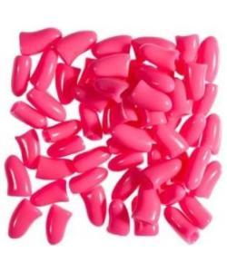 "Защитные колпачки на когти ""Антицарапки"" Розовые, 40 шт."
