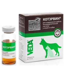 Фитодиета Котэрвин для лечения и профилактики МКБ, 3 фл. по 10мл.
