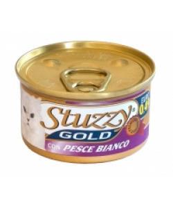 Stuzzy Gold консервы для кошек (мусс из белой рыбы)