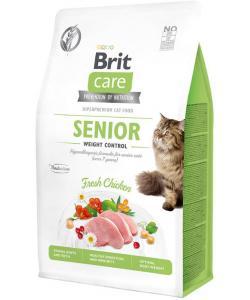Гипоаллергенный корм для кошек старше 7 лет Контроль веса, с курицей Cat GF Senior Weight Control