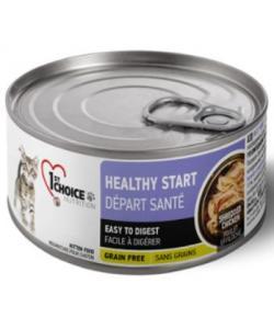 Консервы для котят Здоровый старт, курица в масле тунца Healthy Start