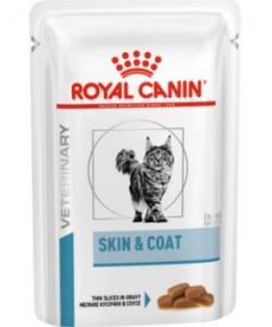 Паучи для стерилизованных кошек с повышенной чувствительностью кожи Skin and Coat